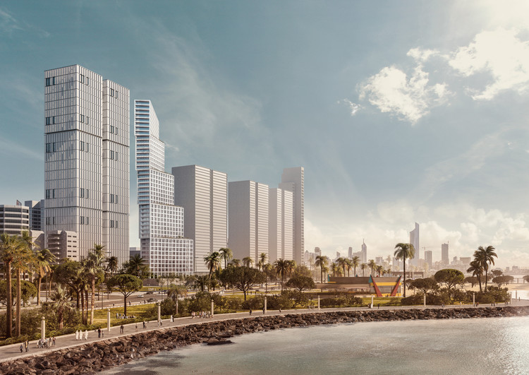 OMA / Iyad Alsaka and Reinier De Graaf Uncover Conceptual Design for their First Project in Kuwait, Courtesy of OMA