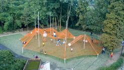 The Weaving Dream Installation for Children / Atelier MIC
