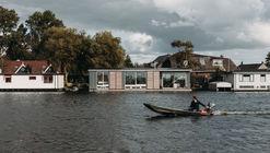 Vila flutuante com energia renovável / vanOmmeren-architecten