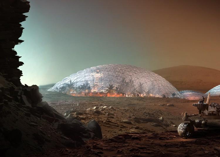 TED Talk: Bjarke Ingels explora las posibilidades de vivir y construir en Marte, Courtesy of Bjarke Ingels Group