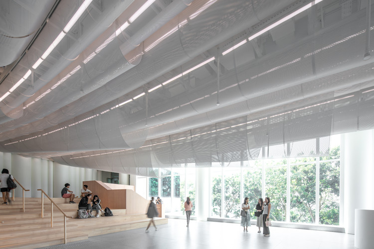 HKU Medical School Lobby / Atelier Nuno Architects, © Edmon Leong
