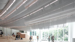 HKU Medical School Lobby / Atelier Nuno
