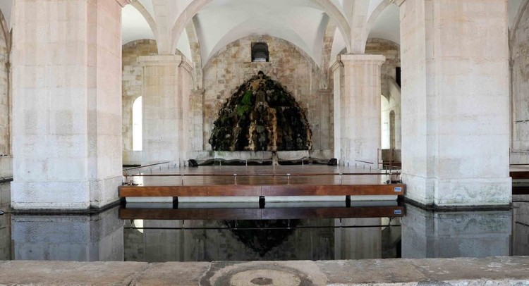 AESabesp lança concurso de arquitetura para o Museu Água de São Paulo, Museu da Água da Unesco em Lisboa, uma das inspirações para o Museu Água da AESabesp . Image © Rafael Antunes / Unesco