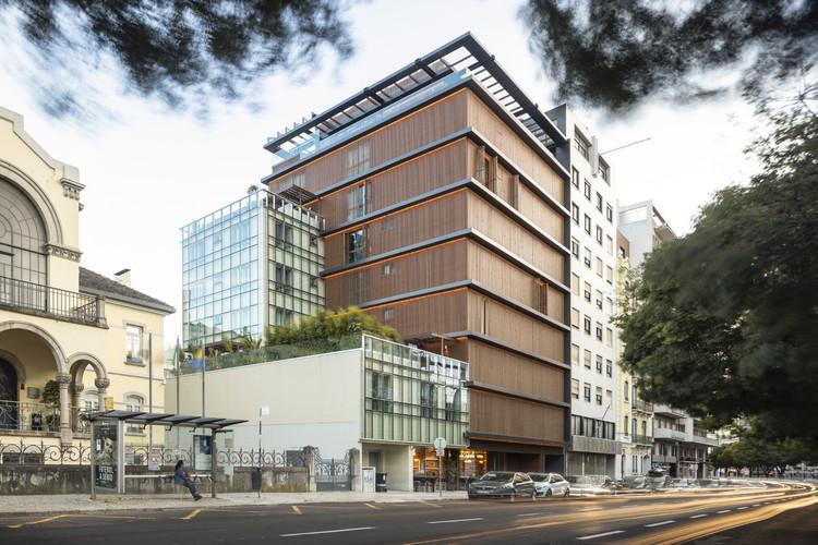 Edifício Nouveau Lisboa / Sidney Quintela Architecture + Urban Planning, © Fernando Guerra | FG+SG