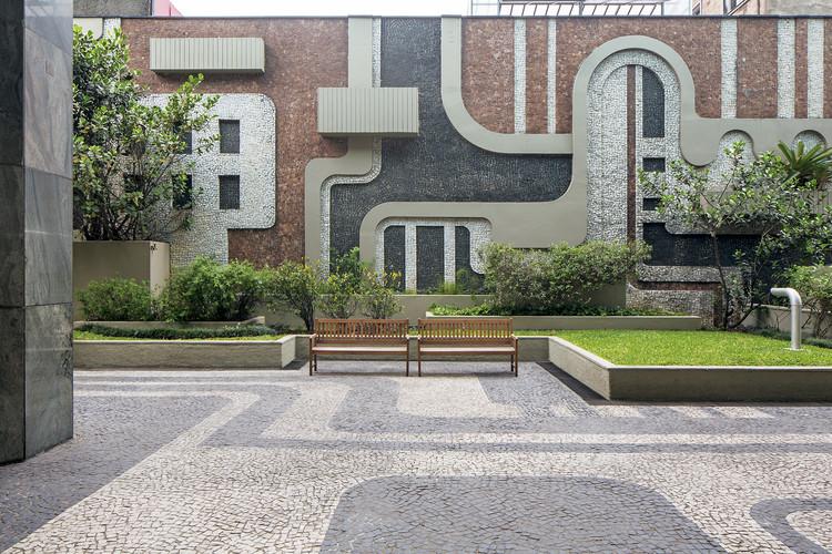 Importantes jardins brasileiros pouco conhecidos, Edifício Parque Cultural Paulista. Image © Leonardo Finotti