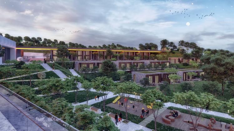 Studio Vertebra projeta termas em sítio arqueológico na Turquia, Cortesia de Studio Vertebra