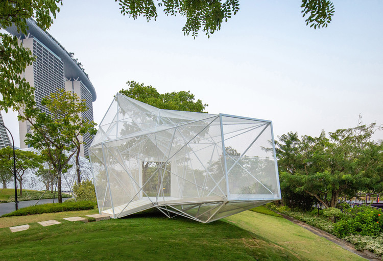 AirMesh Pavilion / AIRLAB, Courtesy of AirMesh Pavilion