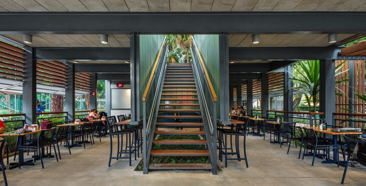 Restaurante Alameda – Esporte Clube Pinheiros / Biselli Katchborian Arquitetos + Zanatta Figueiredo , © Nelson Kon