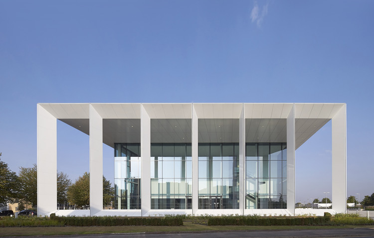 234 Bath Road Office Building / Flanagan Lawrence, © Hufton + Crow