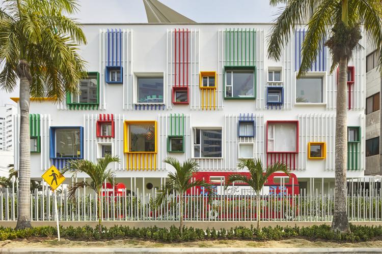 Pré-escola do Colégio Britânico de Cartagena / Cruz Rodriguez Arquitectura, © Chris Kewish