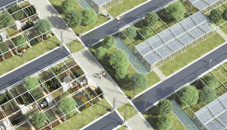 Sustainable Parking Space for an Eco-Responsible Generation  , © Studio NAB