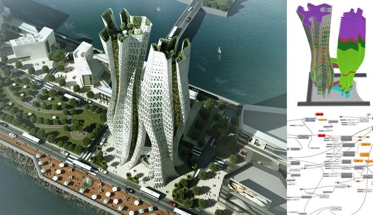 Hong Kong Skyscrapper. Image Courtesy of rat[LAB]