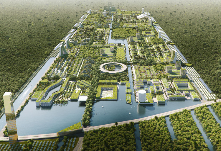 Stefano Boeri Architetti diseña la primera ciudad forestal inteligente en México, Courtesy of The Big Picture