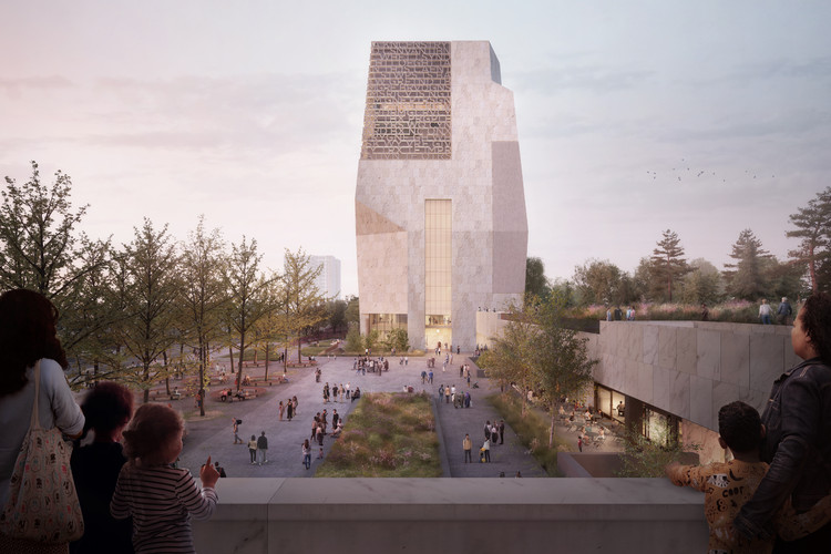 New Renderings Released for Obama Presidential Center in Chicago, Obama Presidential Center. Image Courtesy of The Obama Foundation