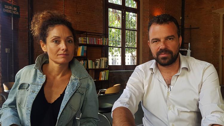 """Ana Román y Arturo Franco: """"Quisimos que la XI BIAU invirtiera sus recursos para aportar algo a Asunción"""", Ana Román y Arturo Franco, comisarios de la XI BIAU. Image"""