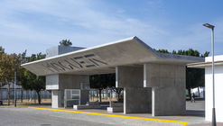 Apeadero de autobuses Puerta de Moguer / Ahaus arquitectos
