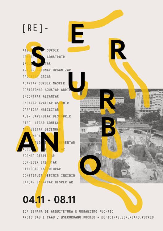 Ser Urbano 2019 , Cartaz oficial Ser Urbano 2019 | RE-AÇÕES