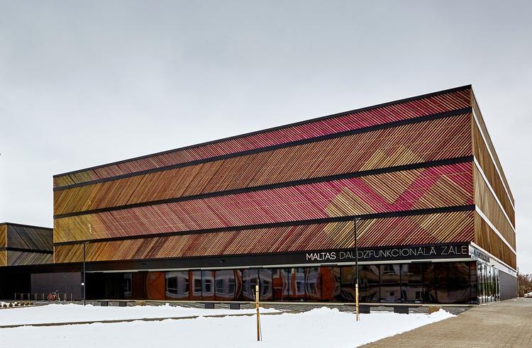 Hall Multifuncional / SAALS Architecture, © Valts Kleins