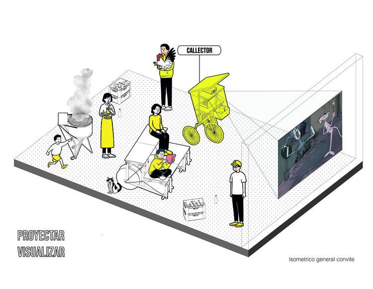 Artefactos en el espacio público hechos por y para la ciudadanía, Cortesía de Ruta 4 + Coonvite