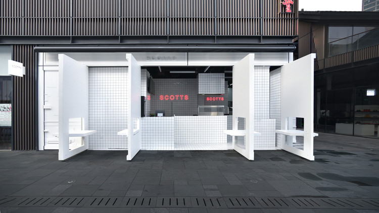 Scotts Taikoo Li Restaurant / Unknown Works