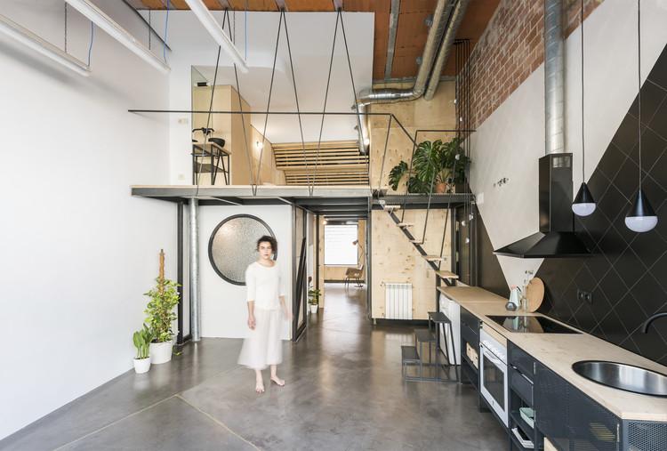 Reciclaje residencial UPHouse / cumuloLimbo studio, © Javier de Paz García