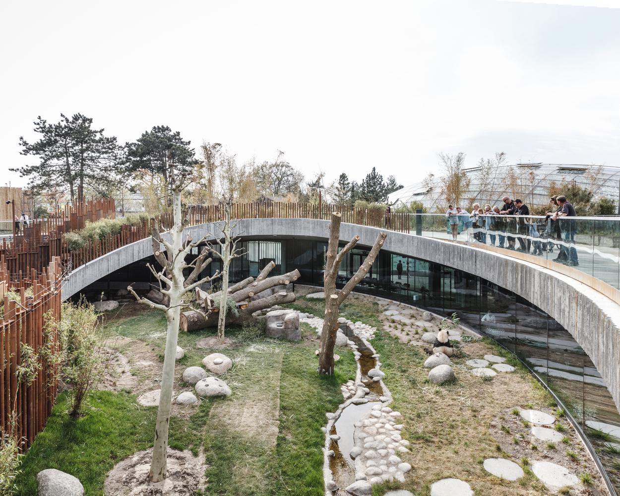 Panda House Observation Center / BIG