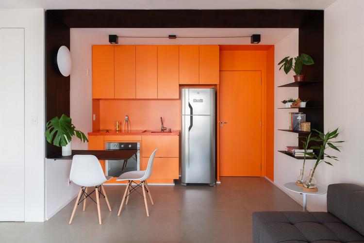 Apartamento Tetrys 607 / CR2 Arquitetura, © Cris Farhat