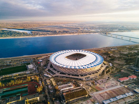 Volgograd-Arena Football Stadium  / PI ARENA