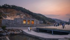 Stone Nest Amphitheatre / 3andwich Design / He Wei Studio