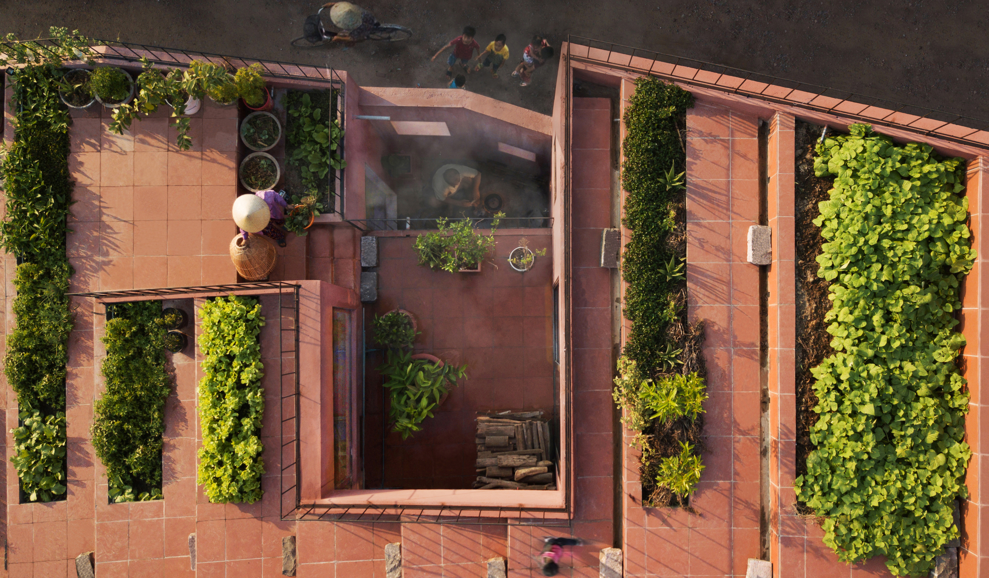 Hasil gambar untuk TAA Design red roof