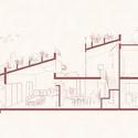 34 - The Red Roof / TAA DESIGN: Vườn rau, sân chơi và không gian kết nối.