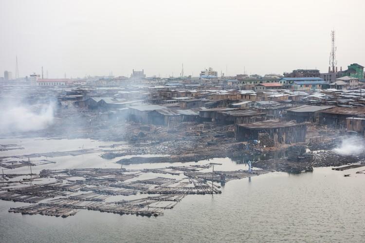 Slums in Lagos, Nigeria. Image © Shutterstock