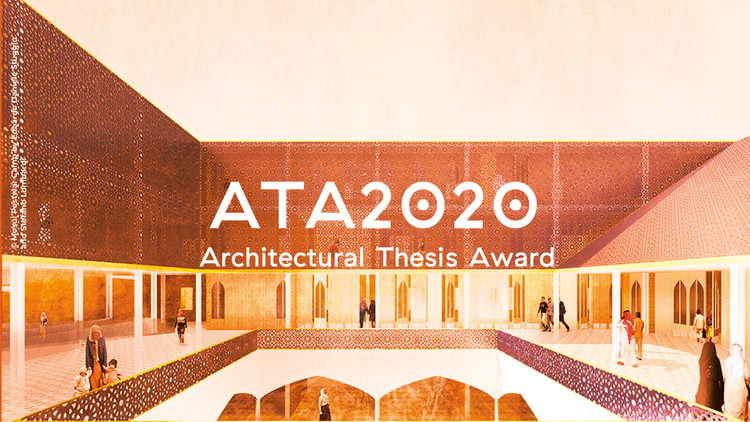 Architectural Thesis Award - ATA2020, ATA2019 winner project MOSUL POSTWAR CAMP by Edoardo Daniele Stuggiu and Stefano Lombardi
