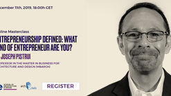 Online Masterclass: Entrepreneurship Defined: What Kind of Entrepreneur are you?