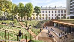Facultad de Derecho de París I Modernización de los cuarteles de Lourcine / Chartier Dalix Architectes