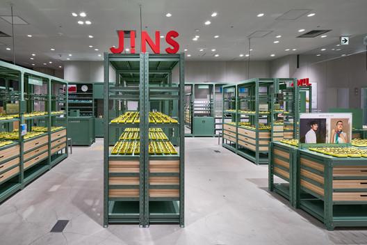 JINS Ginza Loft Shop / Jo Nagasaka / Schemata Architects
