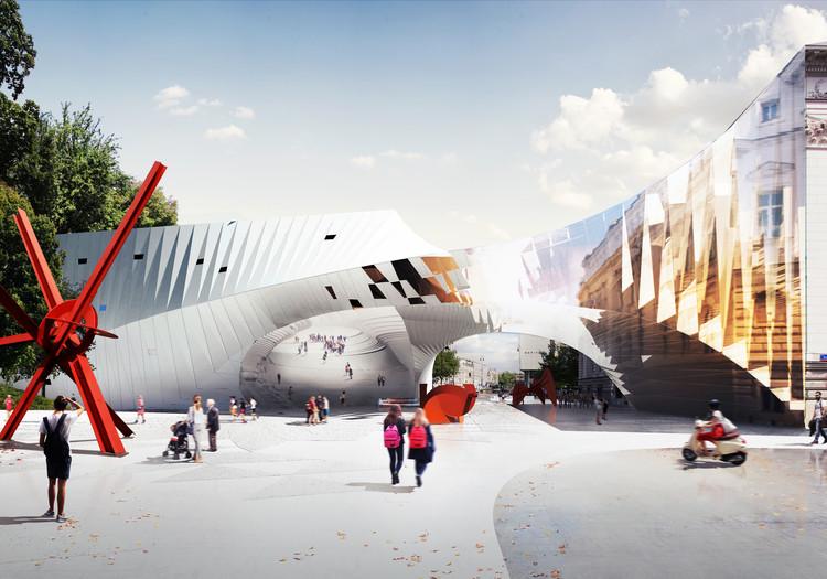 FAAB Architektura projeta transformação da Praça Piłsudski em Varsóvia, Cortesia de FAAB Architektura