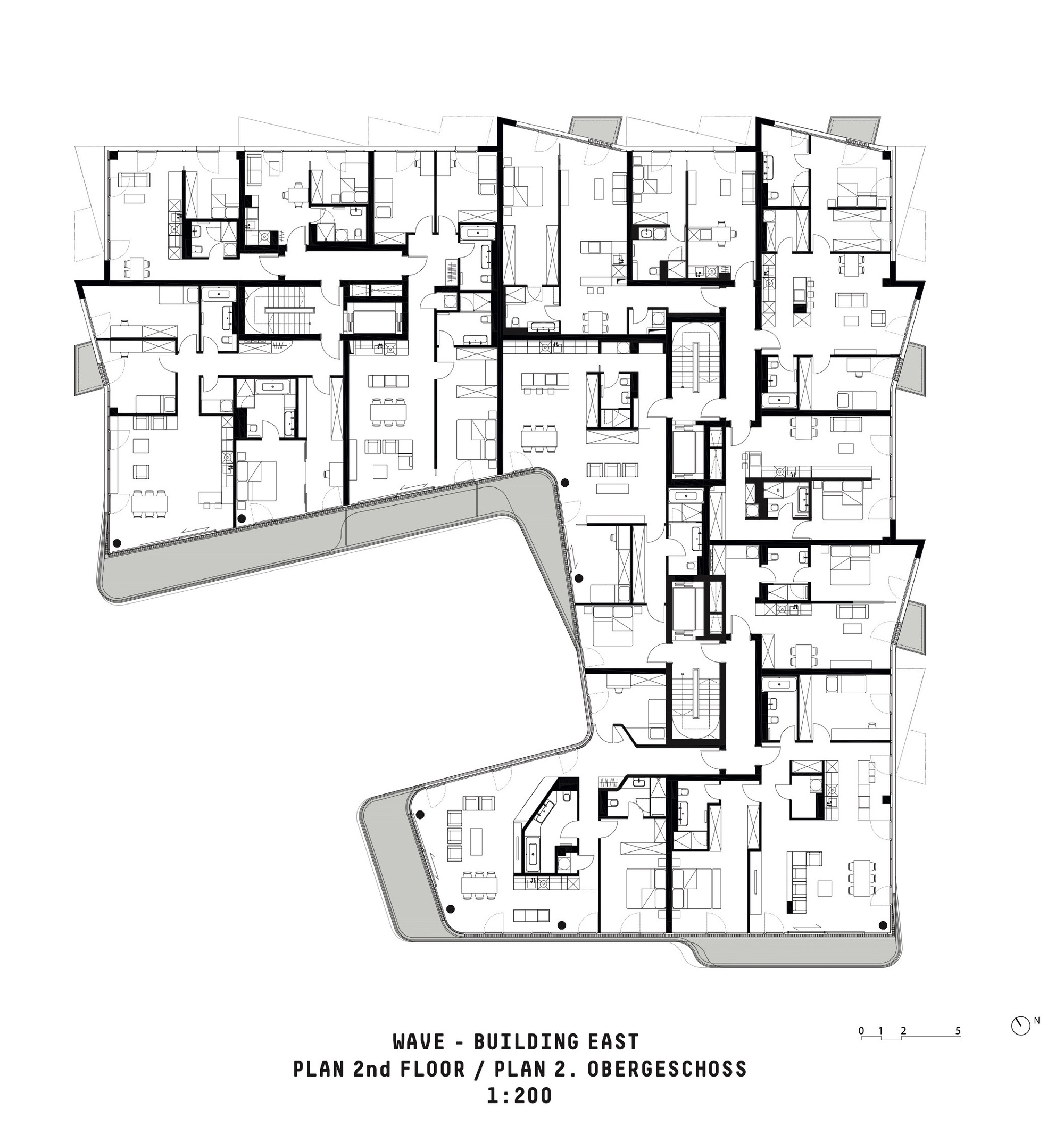Gallery Of Wave Residential Complex Graft 19