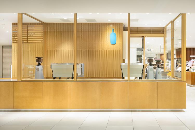 Blue Bottle Coffee Daimaru Tokyo Cafe Stand / Schemata Architects, © Takumi Ota
