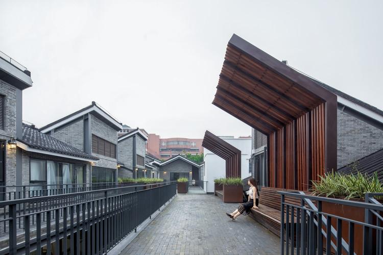 Diseño de paisaje de Yongqing Fang / Lab D+H, Jardín del techo. Imagen © Arch-Exist