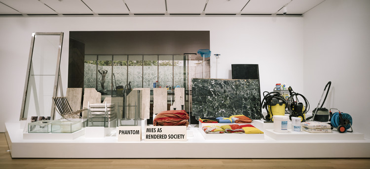 PHANTOM. Mies as Rendered Society by Andrés Jaque recently acquired by the Art Institute of Chicago, Courtesy of the Art Institute of Chicago