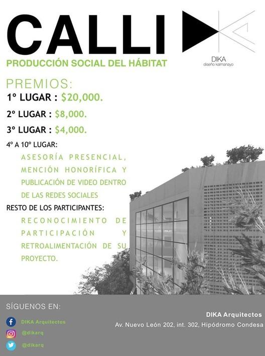 """""""CONCURSO CALLI"""" para estudiantes y recién egresados"""