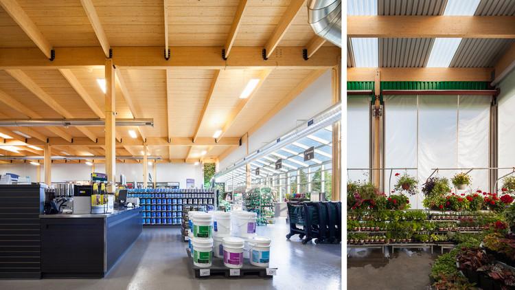 BMR / Concept de magasin Eco Attitude / Sophie Tétrault Architecte.  Image courtoisie de Think Wood