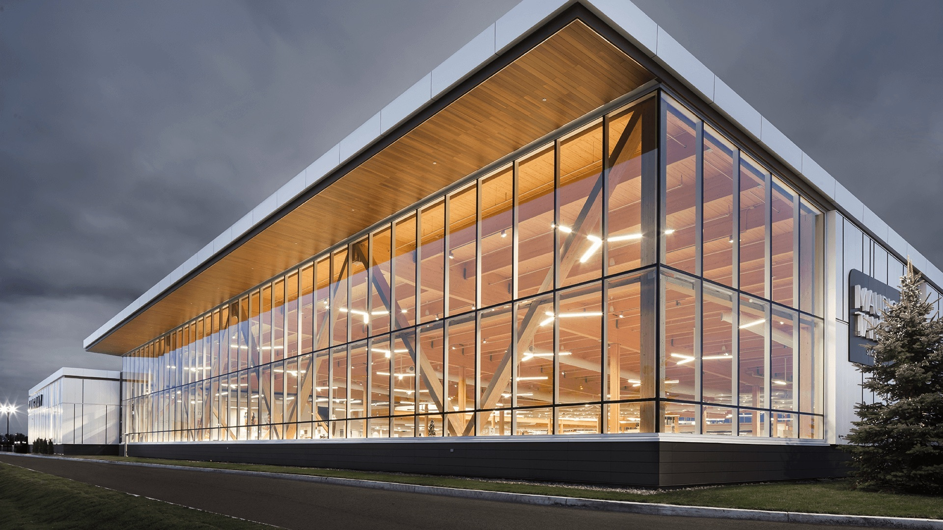 Putting Wood To Work 7 Benefits Of Using Timber In Commercial And Industrial Design Archdaily