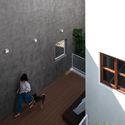 8x24 25 - 8x24 House / AHL architects: Được tạo ra bằng cách sắp xếp 4 khối chức năng