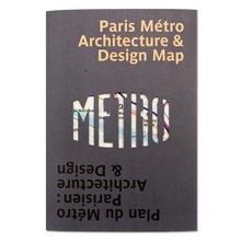 Paris Metro Architecture & Design Map: Bilingual guide map to the architecture, art and design of the Paris Metro