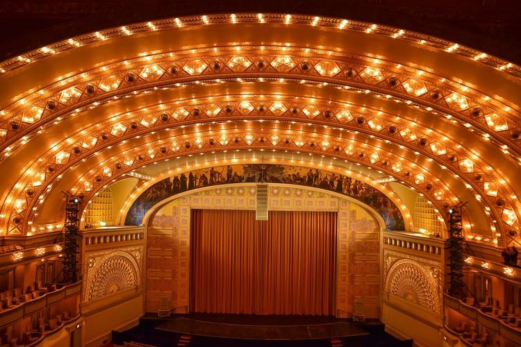 Auditorium Theatre's 130th Birthday Celebration Open House, Auditorium Theatre, photo by Arturo Gonzalez