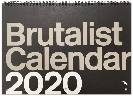 Brutalist Calendar 2020