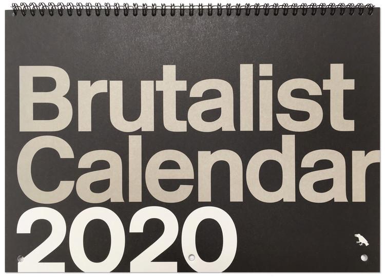 Brutalist Calendar 2020, Brutalist Calendar 2020