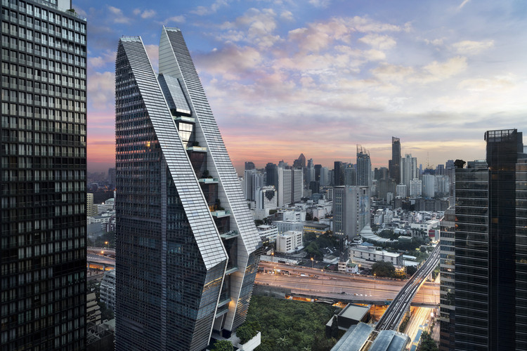 Gene Kohn of KPF on Hudson Yards and Louis Kahn's Teaching , Rosewood Bangkok / KPF © Owen Raggett